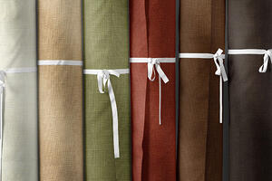 what is linen made from