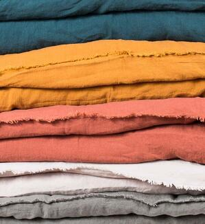 linen fabric colors
